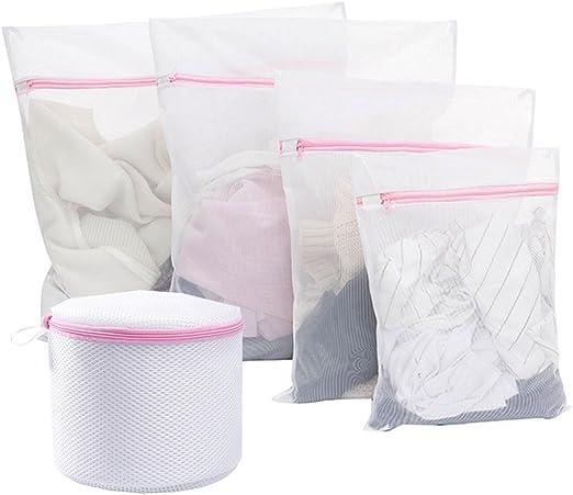 Sixs Pace Ropa Red 5 unidades Saco de ropa con cremallera bolsa ...