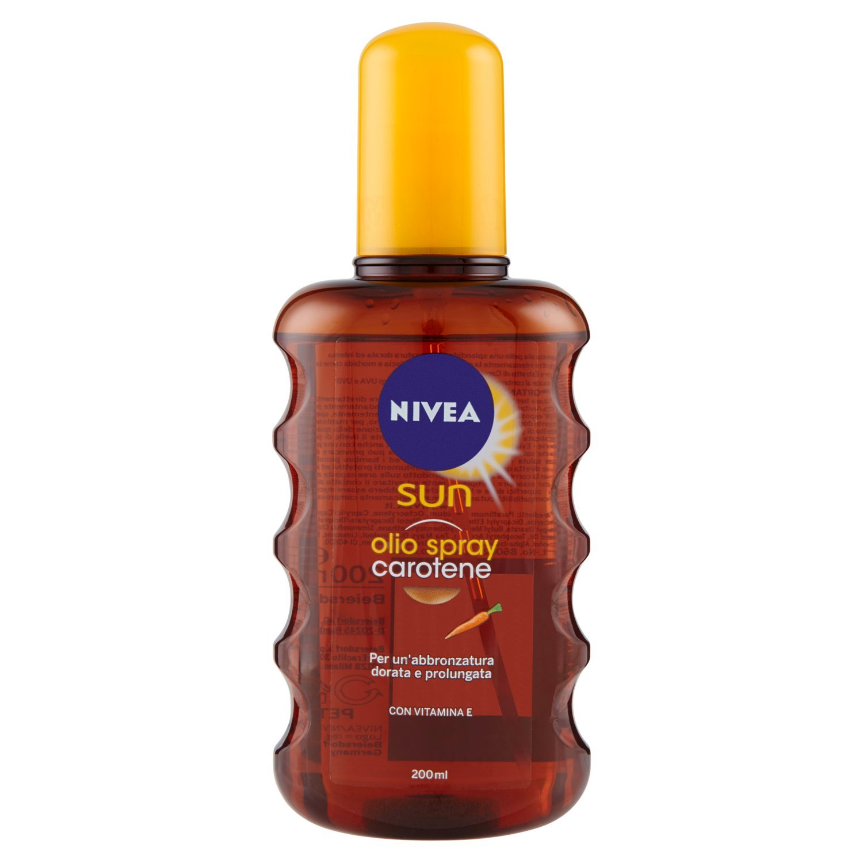 NIVEA Sun Olio Solare Spray con Carotene - 200 ml Beiersdorf 86082
