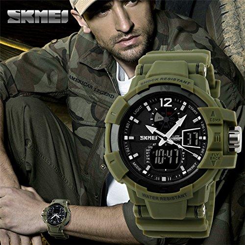 Skmei - Swat reloj táctico navy seals soft air commando dea carabinieri policíaswat reloj táctico navy
