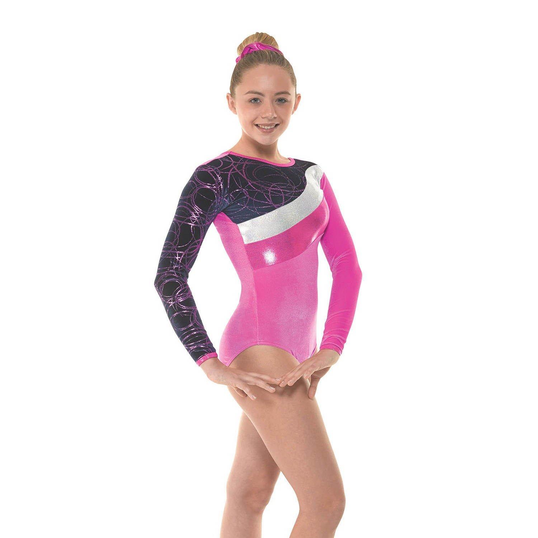 Blue Velvet /& Sparkly Foil Ladies Gymnastics Leotard Gym Dancewear 10+12 Gym 31