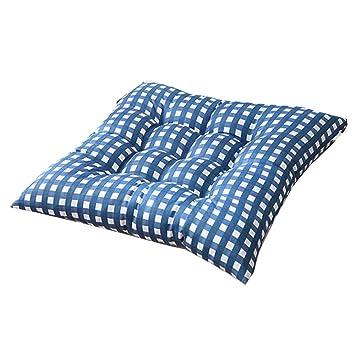 Amazon.com: HIKTY - Cojín para silla de algodón suave, cojín ...