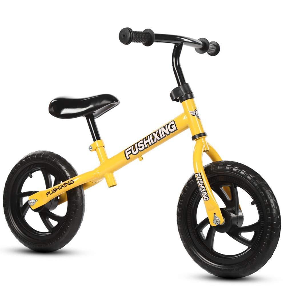 正規激安 スポーツバランスバイク、ノーペダルコントロールウォーキング自転車過渡期サイクリングトレーニングゴムタイヤ調節可能なシート布張りハンドルバーキッズ幼児 A B07PBDMCXF B07PBDMCXF, ニイツルムラ:f99afbe5 --- arianechie.dominiotemporario.com