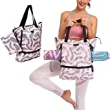 Amazon.com: Brooke & Jess Designs - Bolsa de yoga para mujer ...