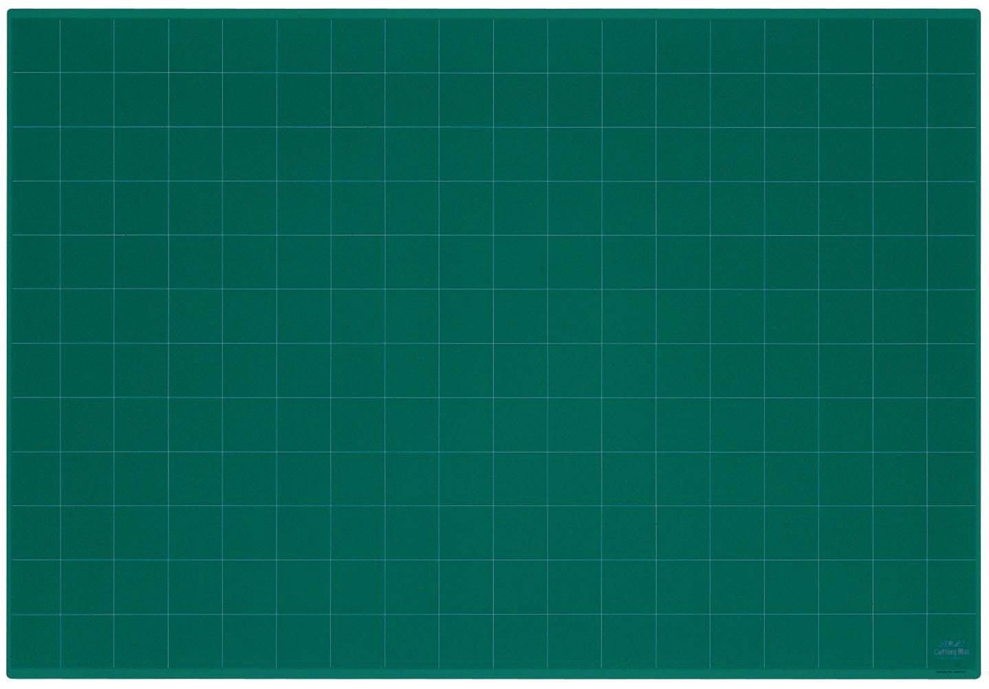 OLFA NCM-L 9832 Ncm-L Self-healing Cutting Mat, Green, 24'' x 6''