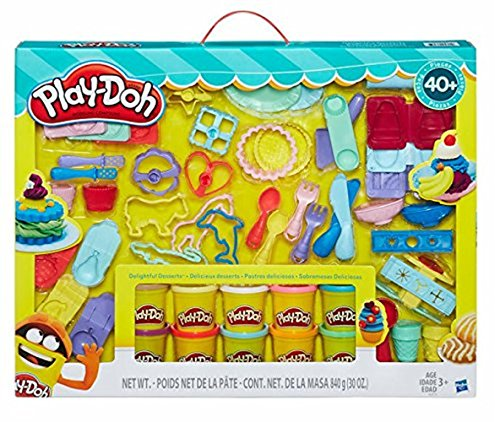 Play-Doh Delightful Desserts Set 40+ Piece Set