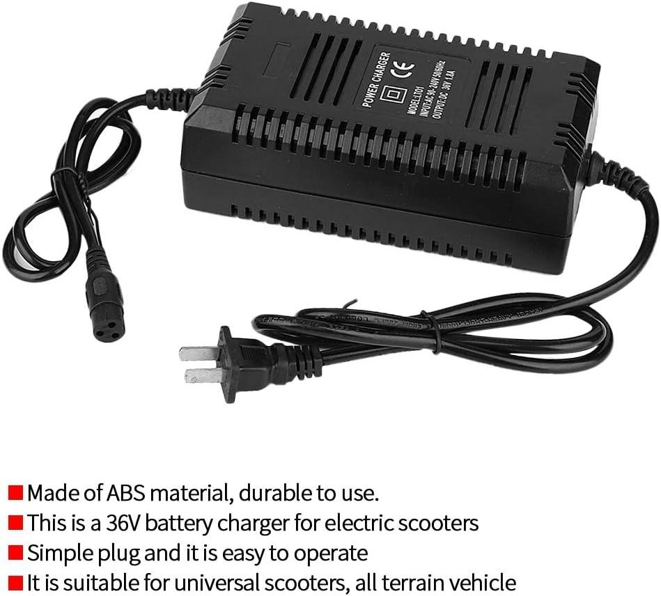 Fydun Cargador de Bater/ía Inteligente 36V para Scooter Bicicleta Electrico