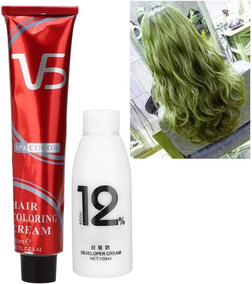 Crema para teñir el cabello Cabello de larga duración Cabello ...