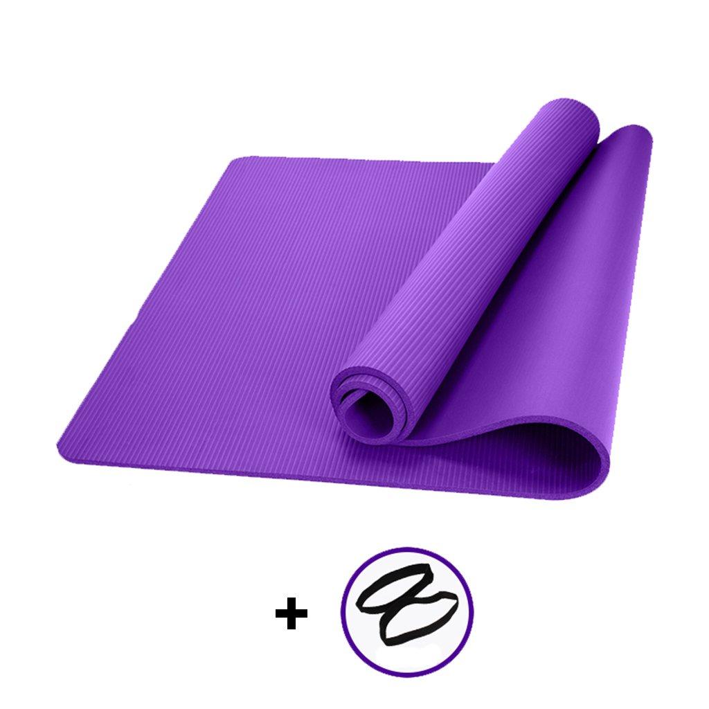 Amazon.com: Yoga Mats Mats Game pad Nbr Rubber Thickening ...