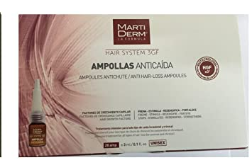MARTIDERM ANTI HAIR-LOSS 28 AMPOULES X mas Gift Skin Beauty Gift