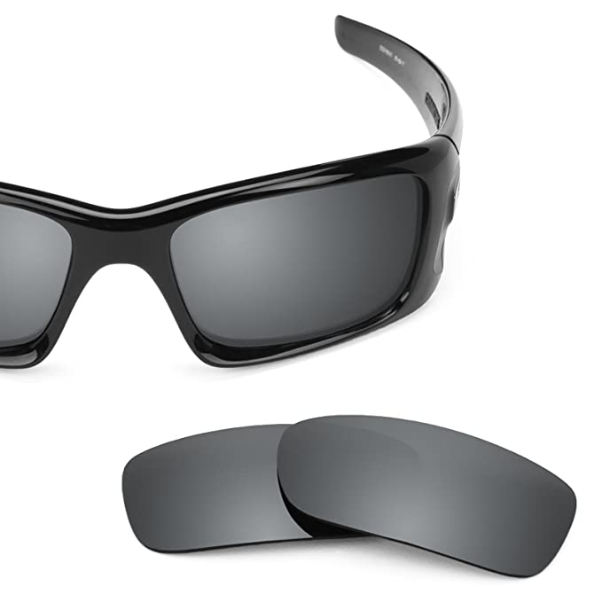 e4dac59b8f Revant Polarized Replacement Lenses for Oakley Crankcase Elite Black Chrome  MirrorShield®  Amazon.co.uk  Clothing