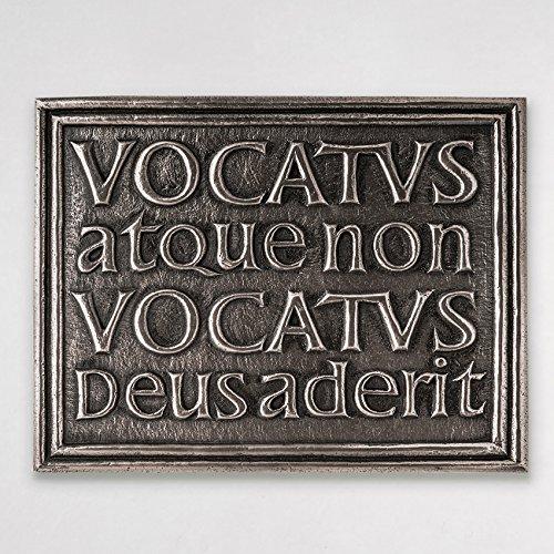 Celtic Vocatus Atque Non Vocatus Bronze Plaque