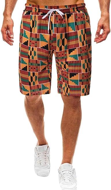 Pantalones Cortos de Hombres Mezcla de algodón Mens Pants de ...