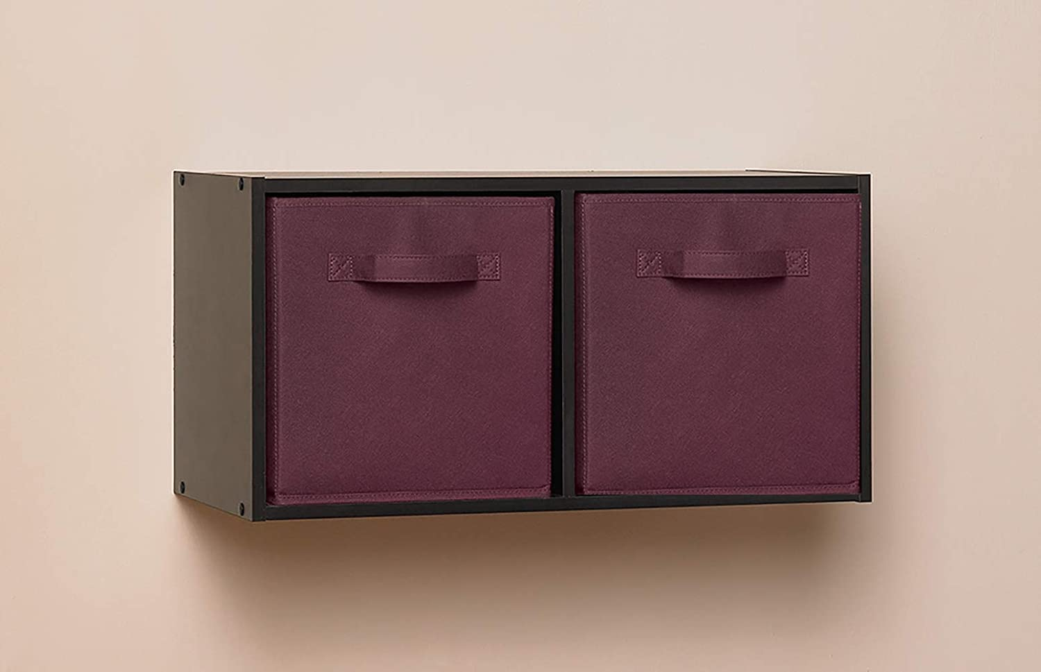 ClosetMaid 1468 Cubeicals Fabric Drawers Pink 2-Pack