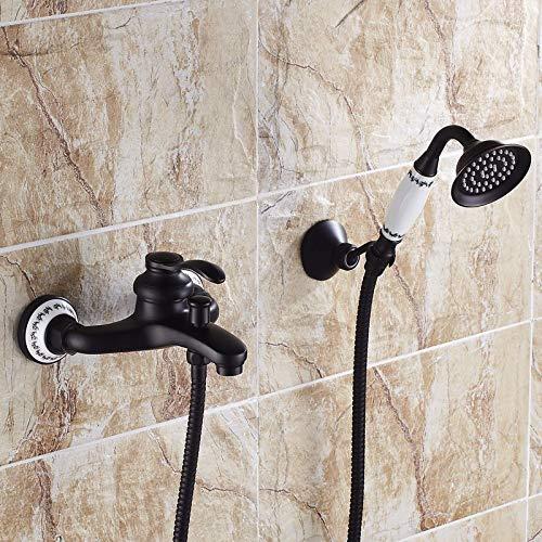 135 All-copper Black Antique Ceramics Hlluya Professional Sink Mixer Tap Kitchen Faucet Rain shower faucet bath 10 black