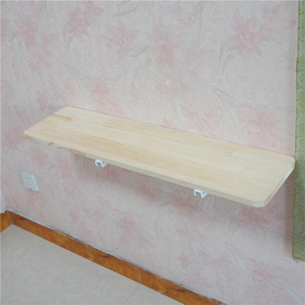 ソリッドウッド壁掛け式折り畳みテーブル家庭用ダイニングテーブルシンプルなベッドルームサイドテーブルサイズオプション ( サイズ さいず : 120cm*30cm ) B07BBKD1FD 120cm*30cm 120cm*30cm