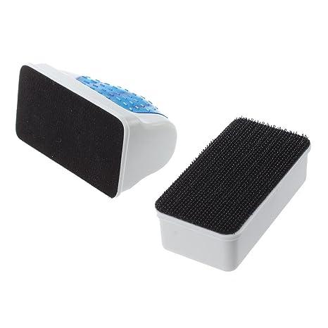 SODIAL(R) Herramienta De Limpiador De Cepillo Flotante Magnetico Para Limpiar Algas De Vidrio
