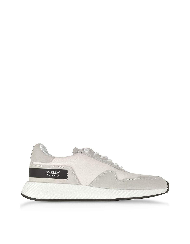 516506a15d Amazon.com: Ermenegildo Zegna Men's A4187XTSOCAL White Fabric ...