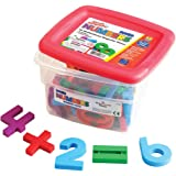 Educational Insights Jumbo MathMagnets- Multicolored (Set of 42)