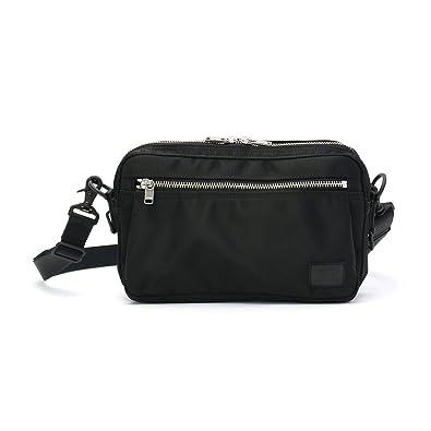amazon ポーター porter リフト 横型ショルダーバッグs ブラック