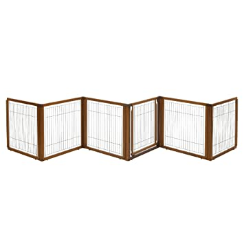 Nice Richell 3 In 1 Convertible Elite Pet Gate, 6 Panel