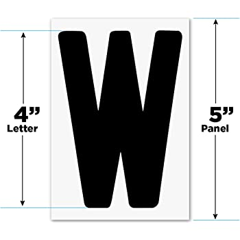 Amazon Com Changeable Outdoor Sign Letters 4 Quot Portable