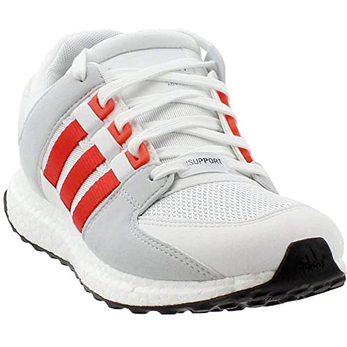 3e21569ca Adidas Men s EQT Support Ultra Grey Red Synthetic 9.5 M US Running White Bold  Orange-Clear Grey  Buy Online at Low Prices in India - Amazon.in