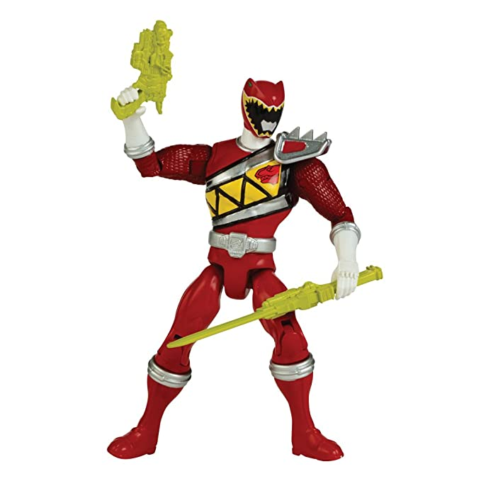 Amazon.com: Power Rangers Red Ranger Figure: Toys & Games