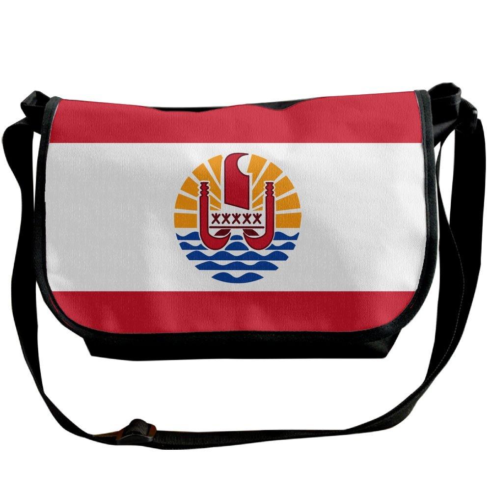 49fcb70cfaea Futong Huaxia Flag Of French Polynesia Travel Messenger Bags Casual Handbag  School Shoulder Bag Crossbody Bag