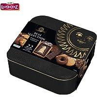 Lambertz伦巴兹黑罐美式优选什锦巧克力曲奇饼干礼盒520g