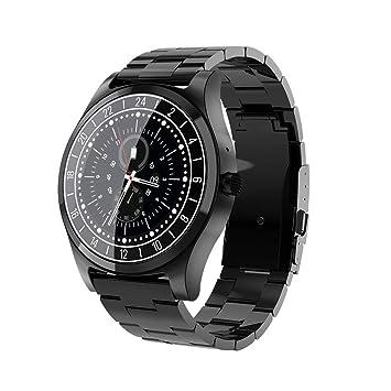 Jerome10Dan Bluetooth Montre Connectée Smartwatch écran OLED de 1,4 Pouce,Android Wear 2.0