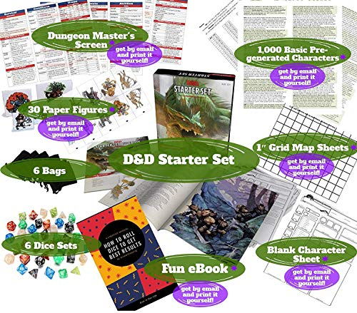Dungeons Dragons Starter Set 5th Edition