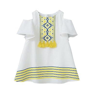 8cf975ee5b Bellelove Baby Girls Summer T-Shirt Dress