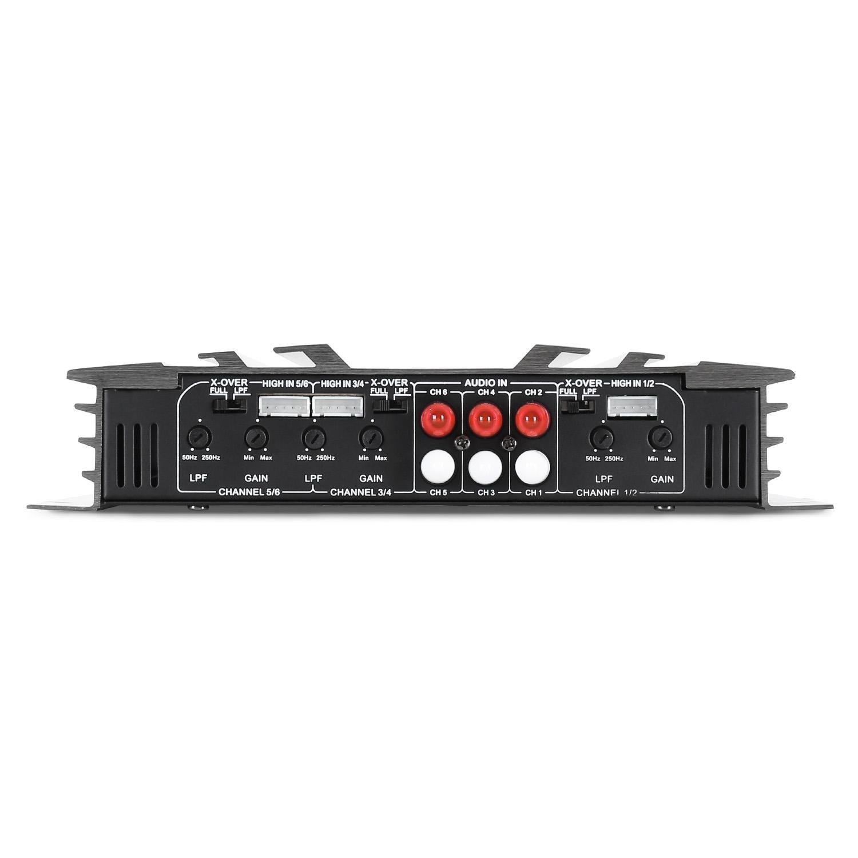 Auna AB-450 - amplificadores para coche (Gris, 50-250 Hz): Amazon.es: Electrónica