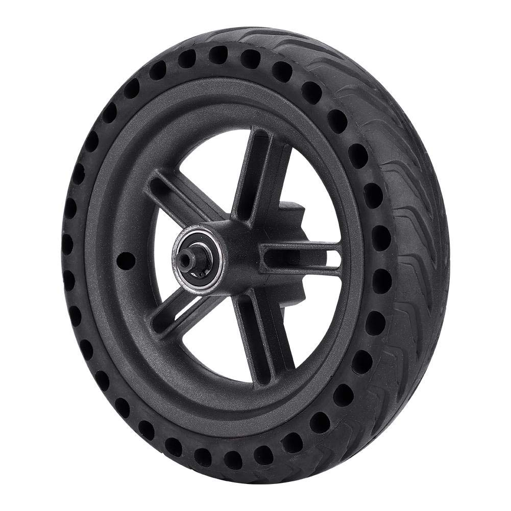 Alomejor Tire Wheels Anti-Skidding Wheel Hub Explosion-Proof Tire Set for xiaomi m365