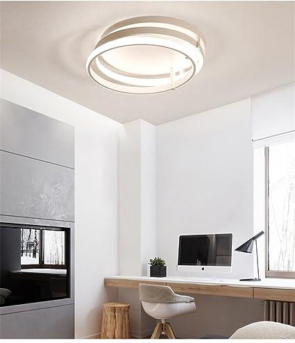 Luces De Techo LED Envolvente Forma Colgante Regulable para ...