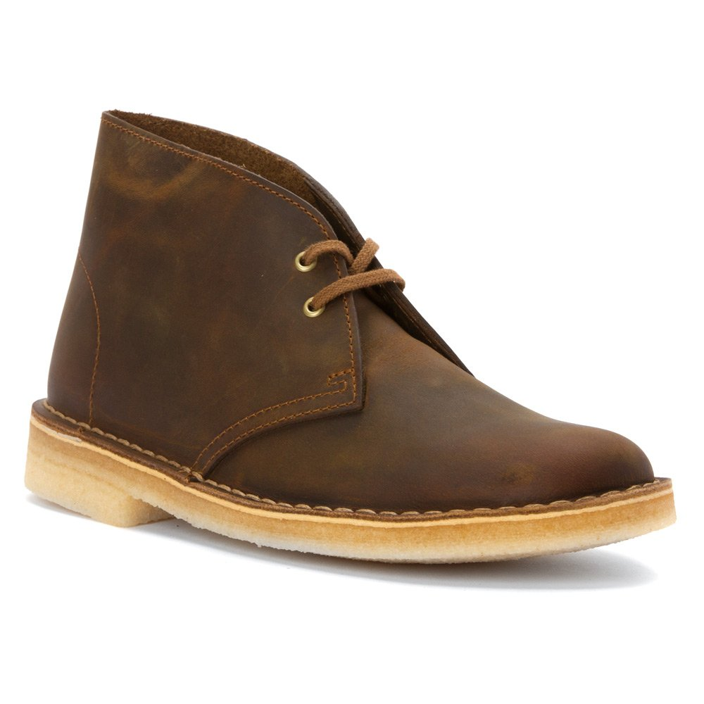 CLARKS Women's Desert Boot Ankle Bootie B012E3V6ZS 10.5 B(M) US|Beeswax