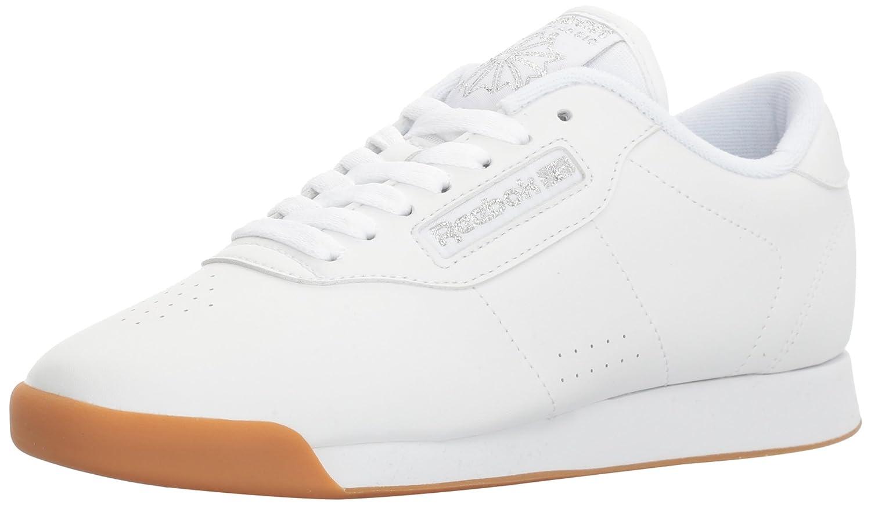 Reebok Women's Princess Sneaker B06XWHVRG2 7 B(M) US|White/White/White