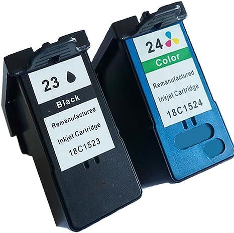 Compatible Cartuchos de Tinta Lexmark 23 24 23 x l 24 x l Lexmark ...