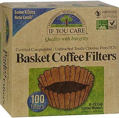 Si Te Importa, filtro de café, cesta, pack de 12, tamaño – 100 ct ...
