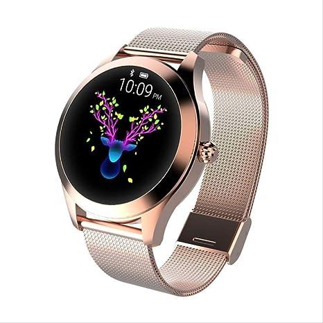 SMSTG Fashion Smart Watch Women Lovely Bracelet Heart Rate ...