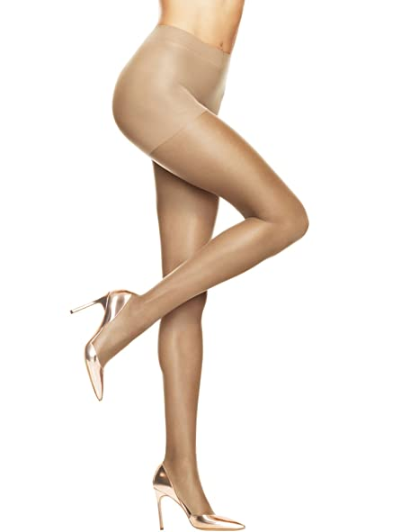 43bc70f4a Image Unavailable. Image not available for. Color  Hanes womens Absolutely  Ultra Sheer Control Top Sheer Toe Pantyhose(707)-Barely There