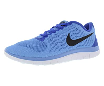newest 17b84 aa043 Nike WMNS Free 4.0 718412 404 Chalk Blue Black-Race (Womens 8,