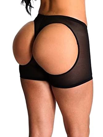 8783447bfe6 Women s Butt Lifter Panties Shapewear Boy Shorts Enhancer Shaper Panty