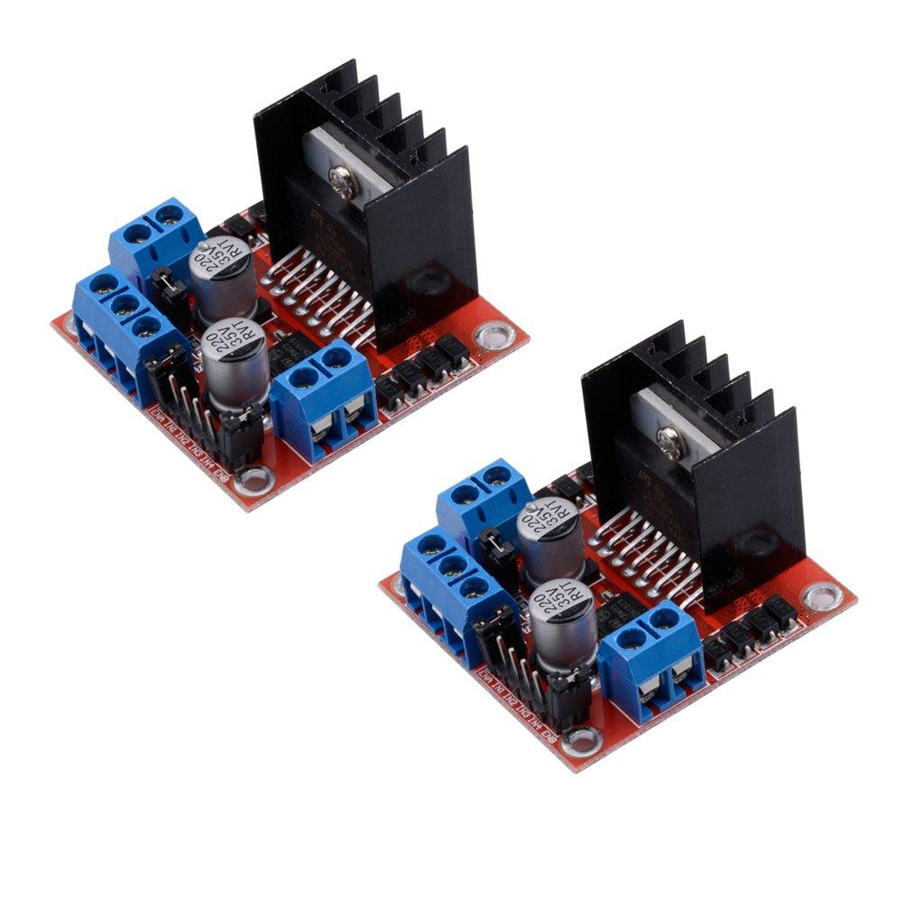 80 Off Qunqi 2packs L298n Motor Drive Controller Board Module Dual H Bridge Dc Stepper For