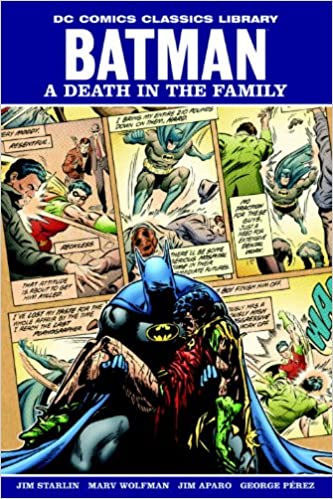 Amazon batman a death in the family dc comics classic library amazon batman a death in the family dc comics classic library 9781401225162 jim starlin jim aparo books fandeluxe Images
