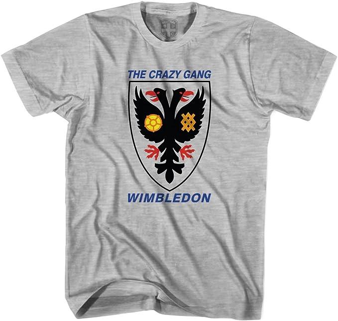 Wimbledon el Crazy Gang Camiseta - Gris -: Amazon.es: Ropa y ...
