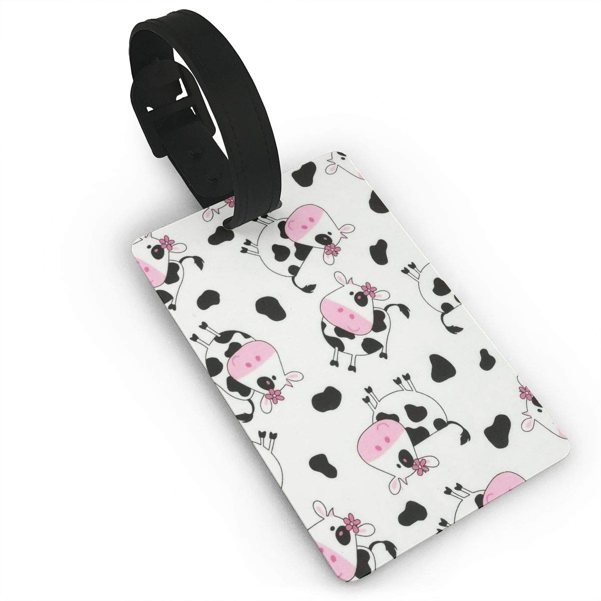 2 Pack Luggage Tags Cow Pattern Cruise Luggage Tag For Travel Tags Accessories