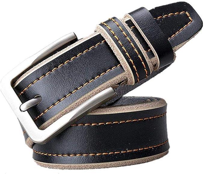 MenS Nener Belt Leather Zinc Alloy Automatic Comfortable