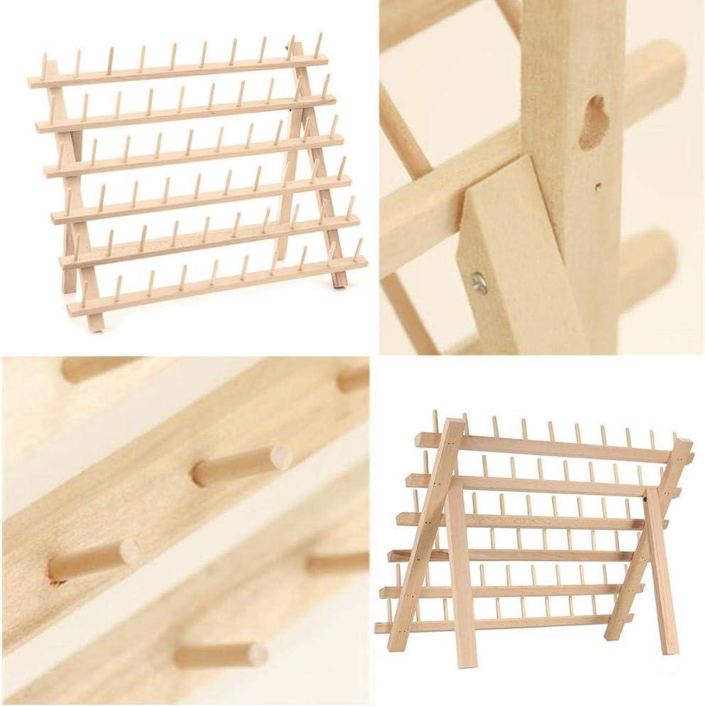Fadenhalter aus Holz f/ür N/ähgarn