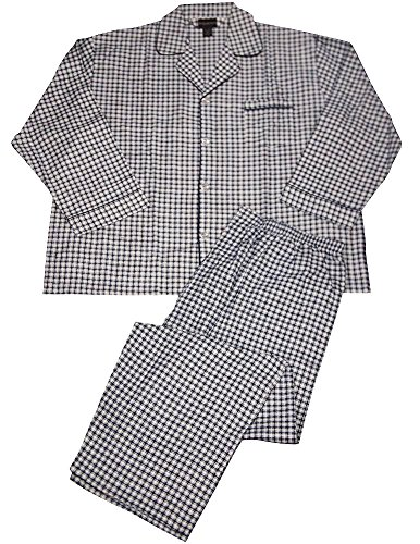 Botony 500 - Mens Flannel Plaid Pajamas